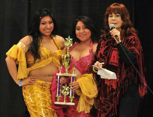 Group Champion:  Viridiana & Roxanna