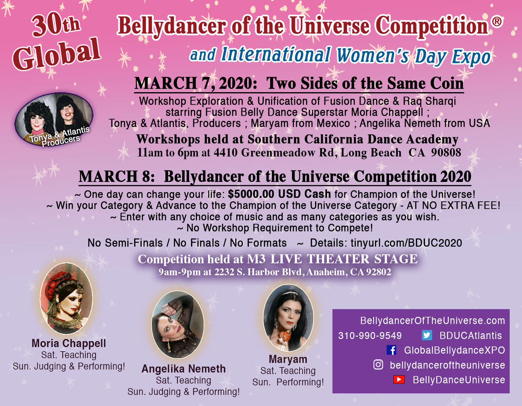 Bellydancer of the Universe® Competitions in ORANGE COUNTY